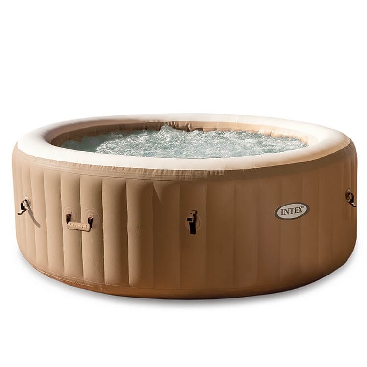 intex purespa bubbel jacuzzi 4 persoons jacuzzi. Black Bedroom Furniture Sets. Home Design Ideas